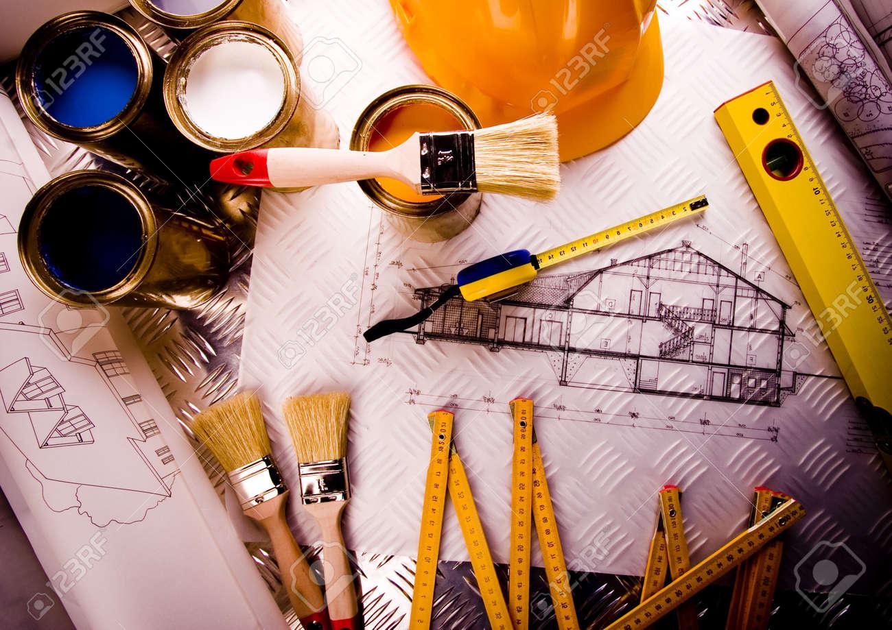 Architecture plan Stock Photo - 2387582