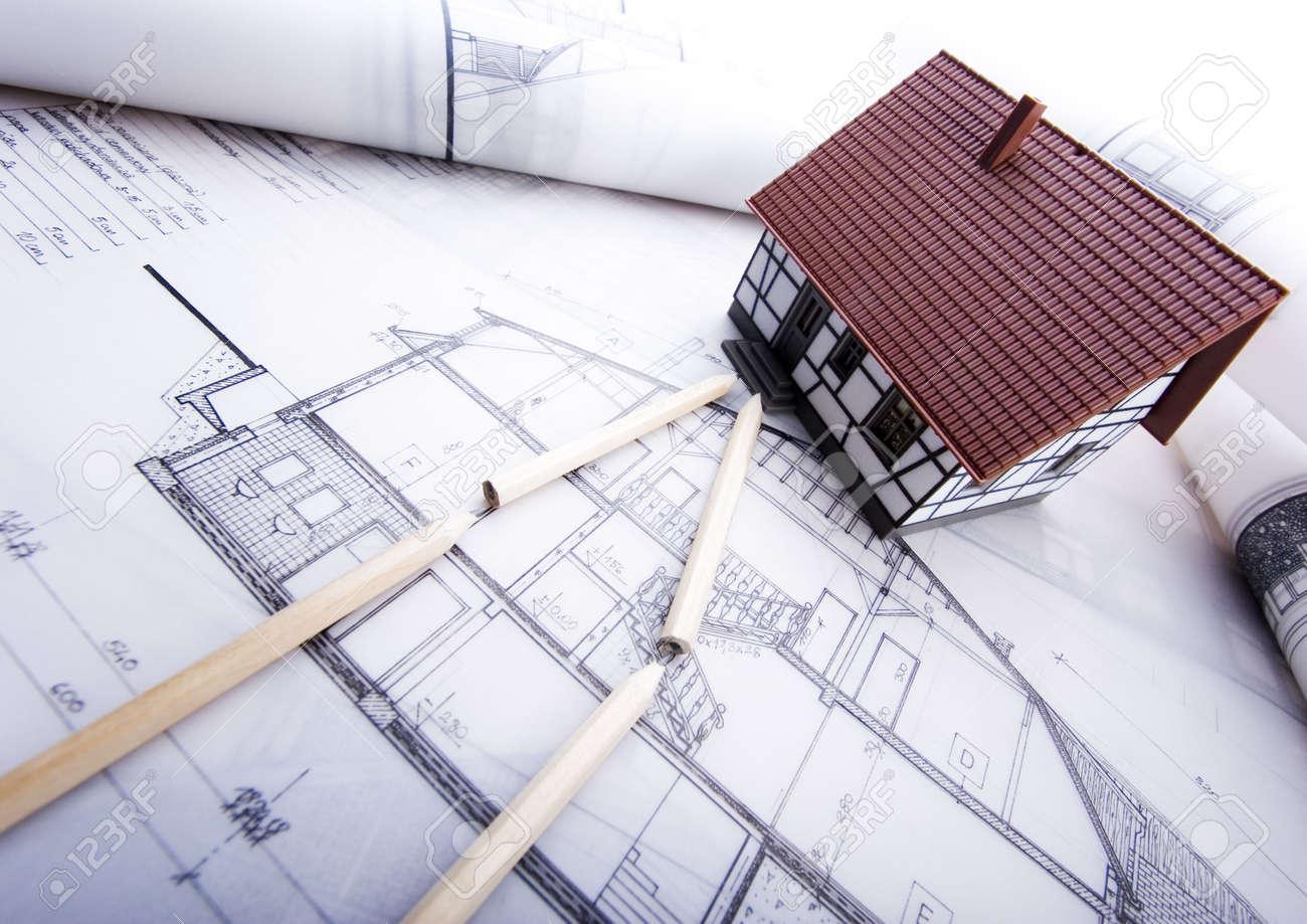 House plan Stock Photo - 2612124