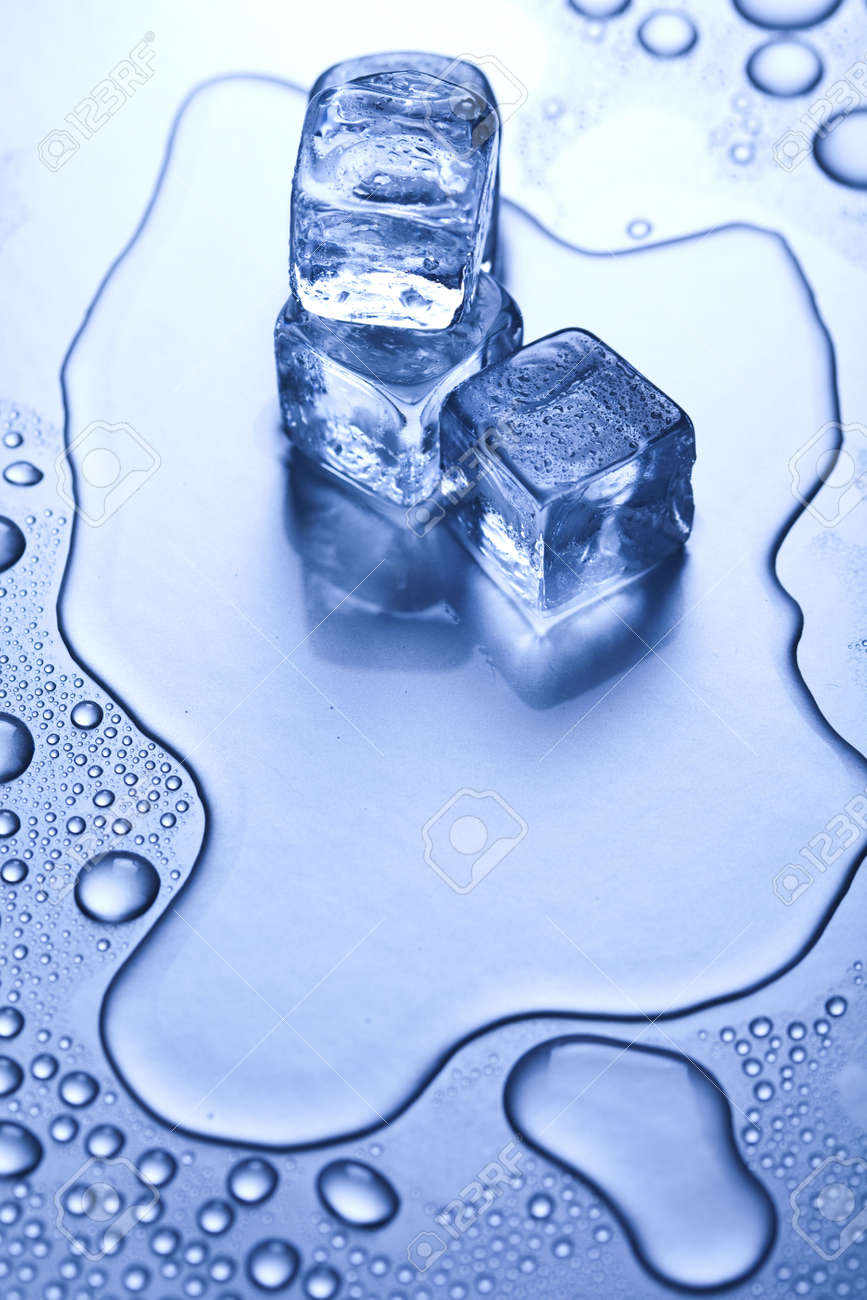 Crystals ice cubes Stock Photo - 5930701