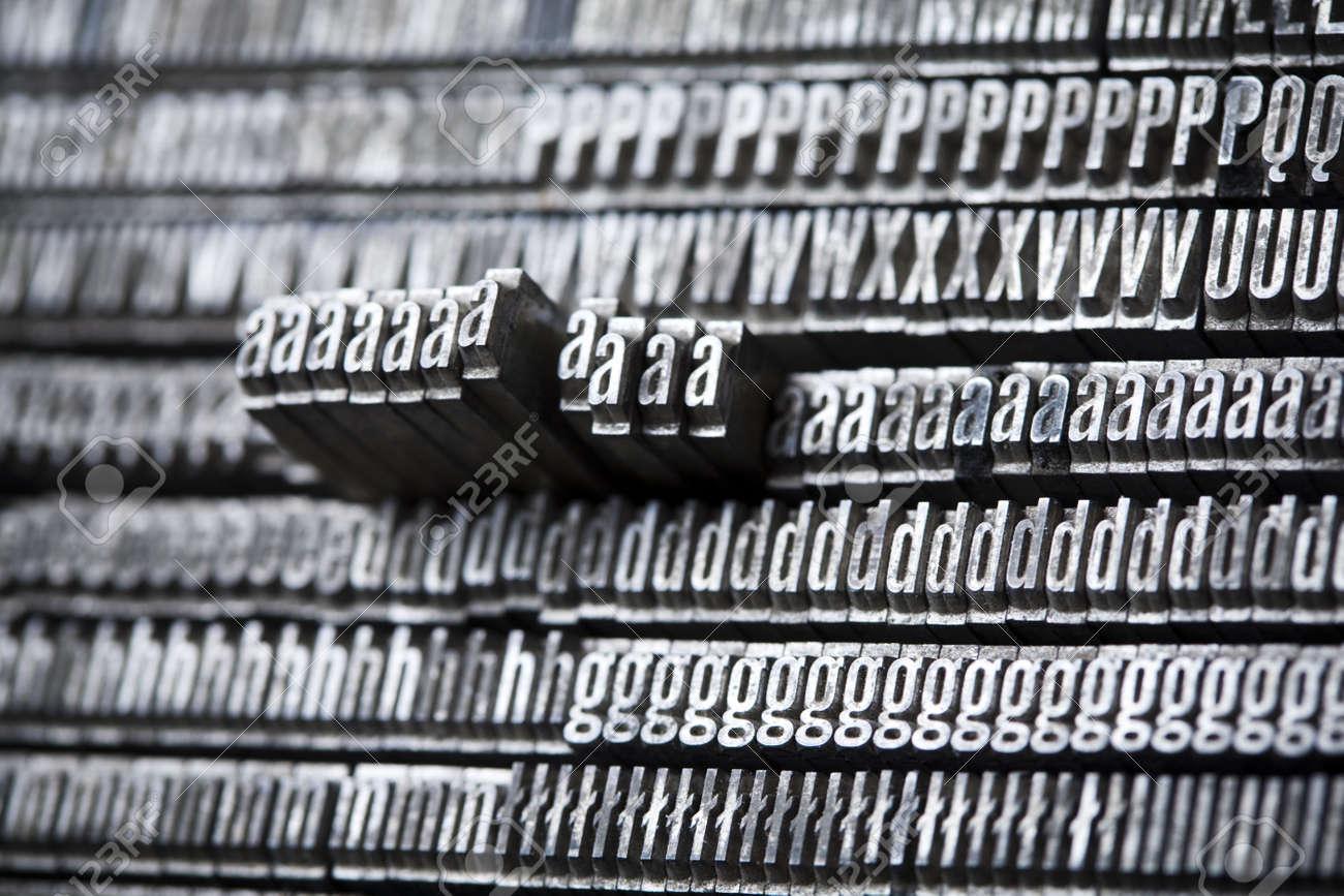 Alphabet and typo Stock Photo - 6332989