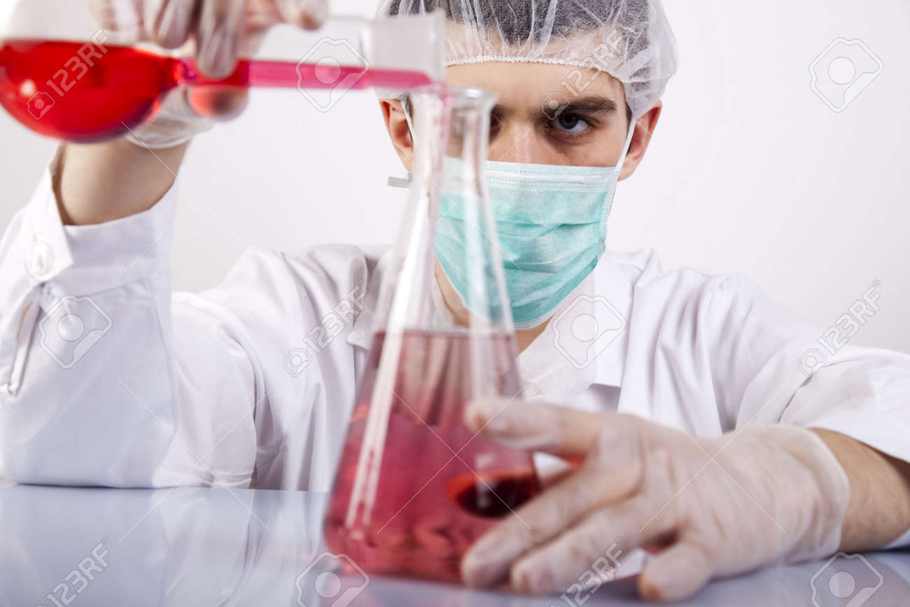 Science experiment Stock Photo - 6333633