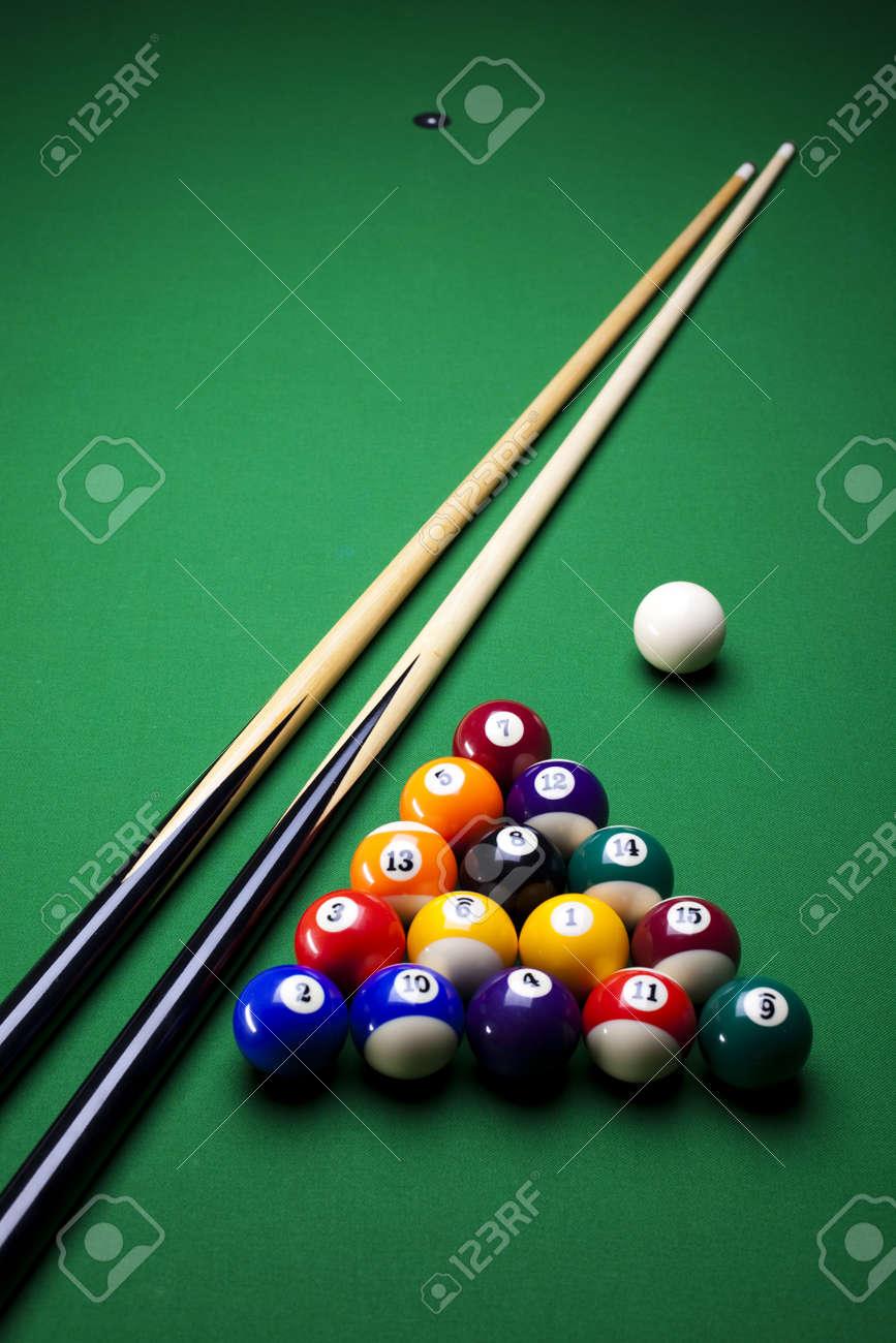 Billiard ball Stock Photo - 8788904