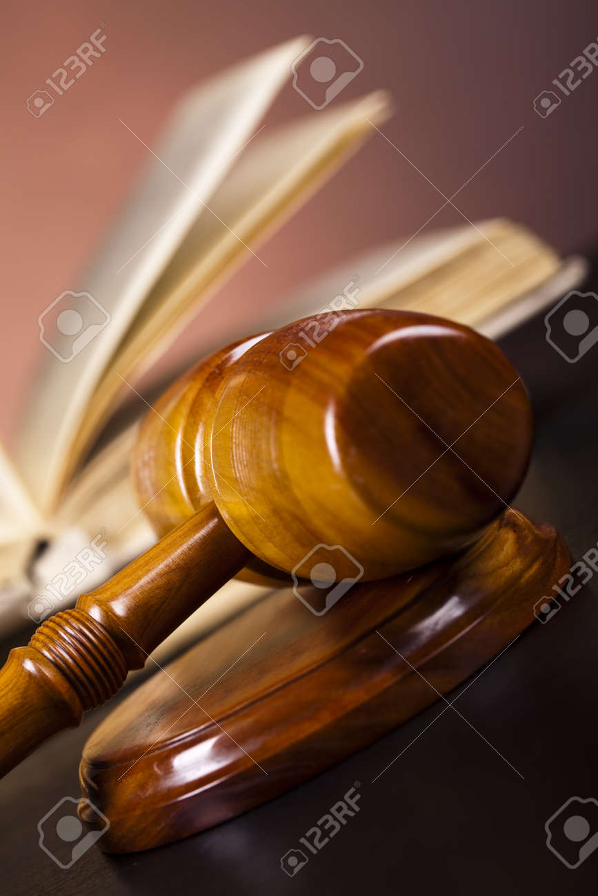 Law and justice concept Stock Photo - 10830484