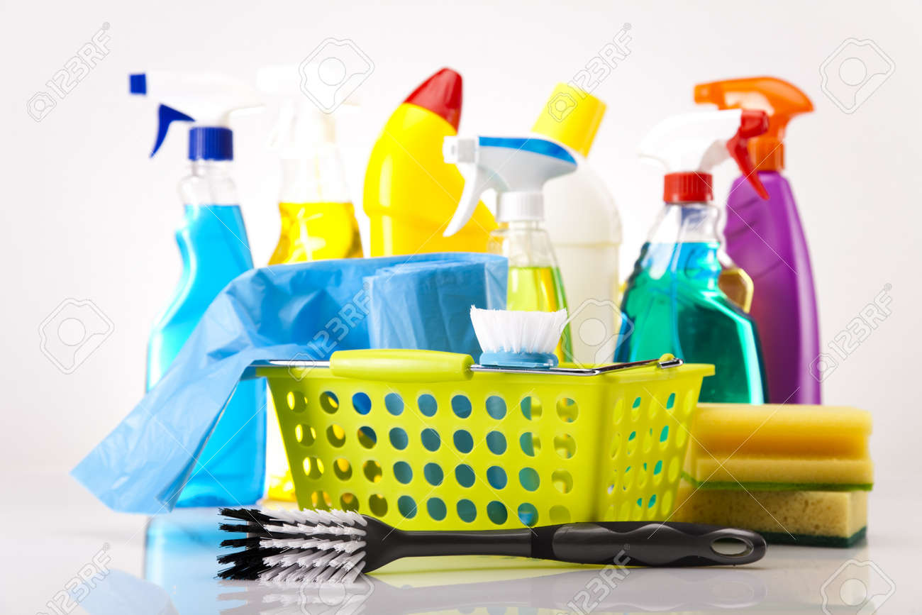 House Cleaning Product Stock Photo Picture And Royalty Free Image Image 16154564