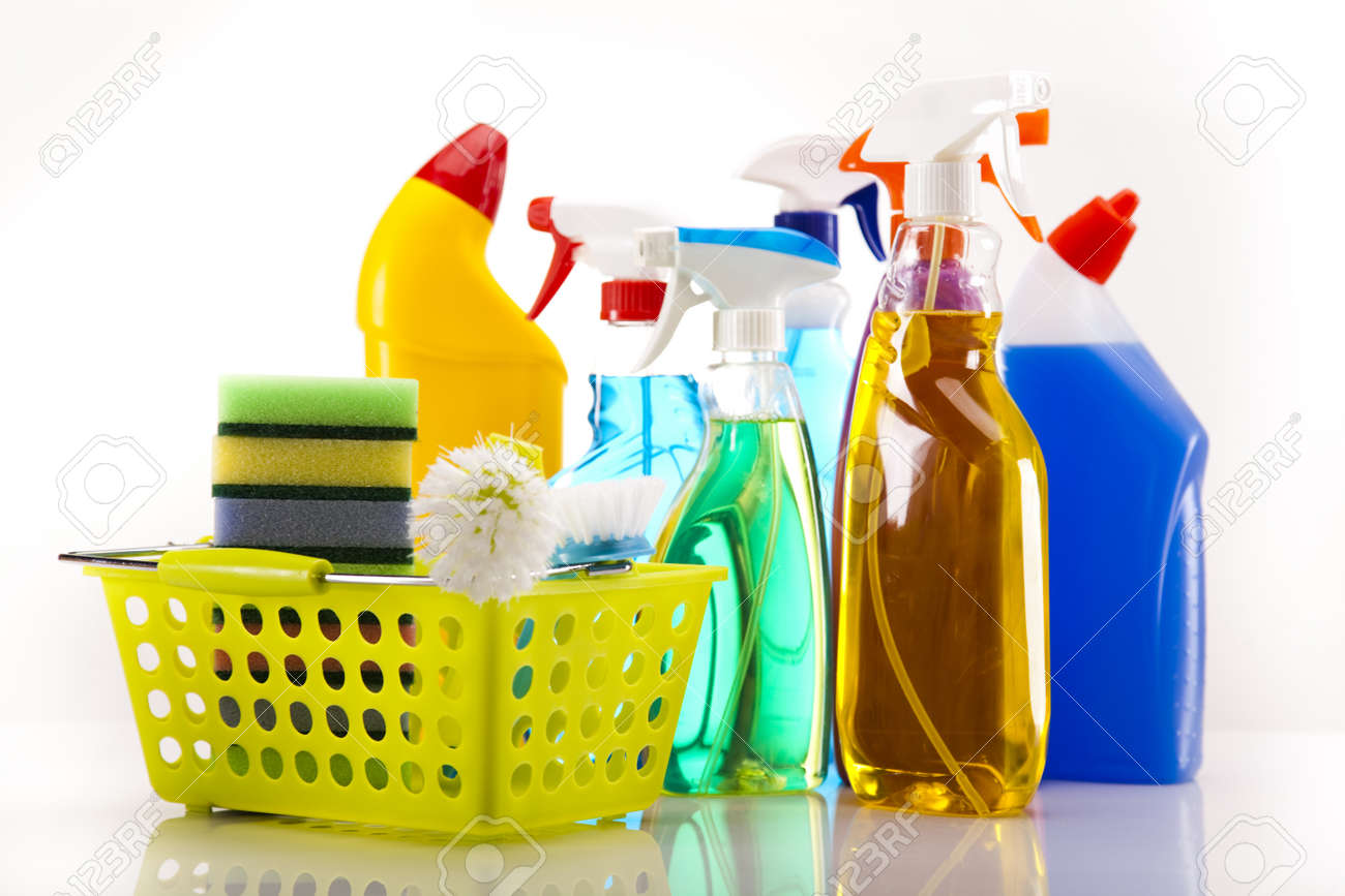 Cleaning products Stock Photo - 16154554