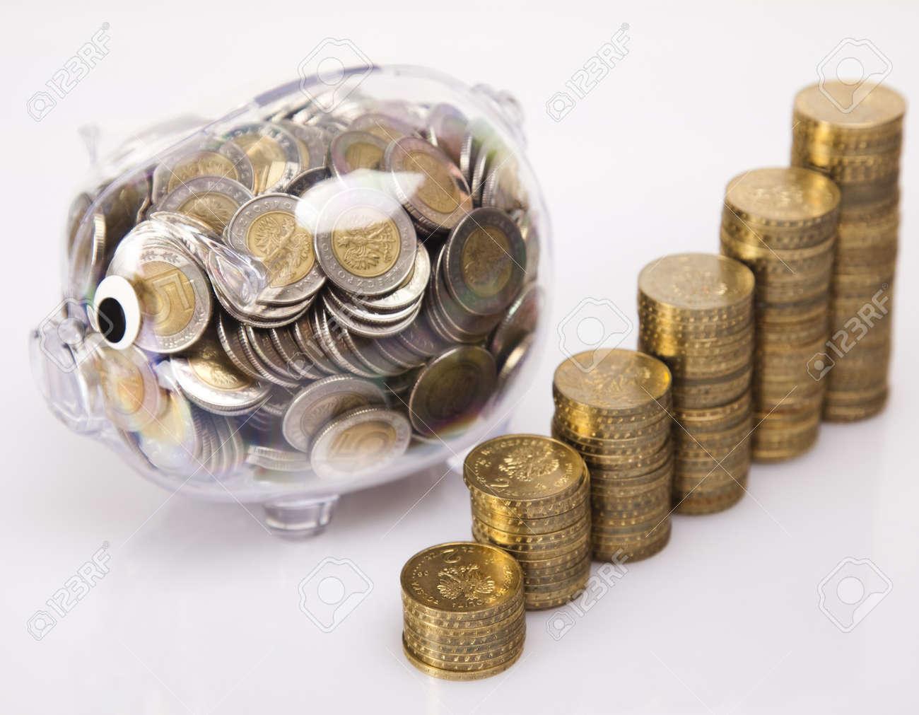 Piggy bank as concept Stock Photo - 17875480