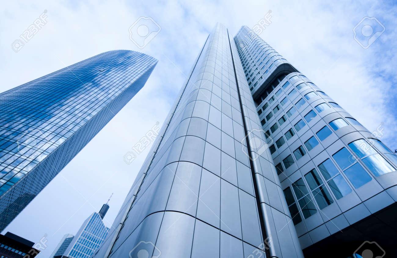 Corporate buildings in perspective - 35099661
