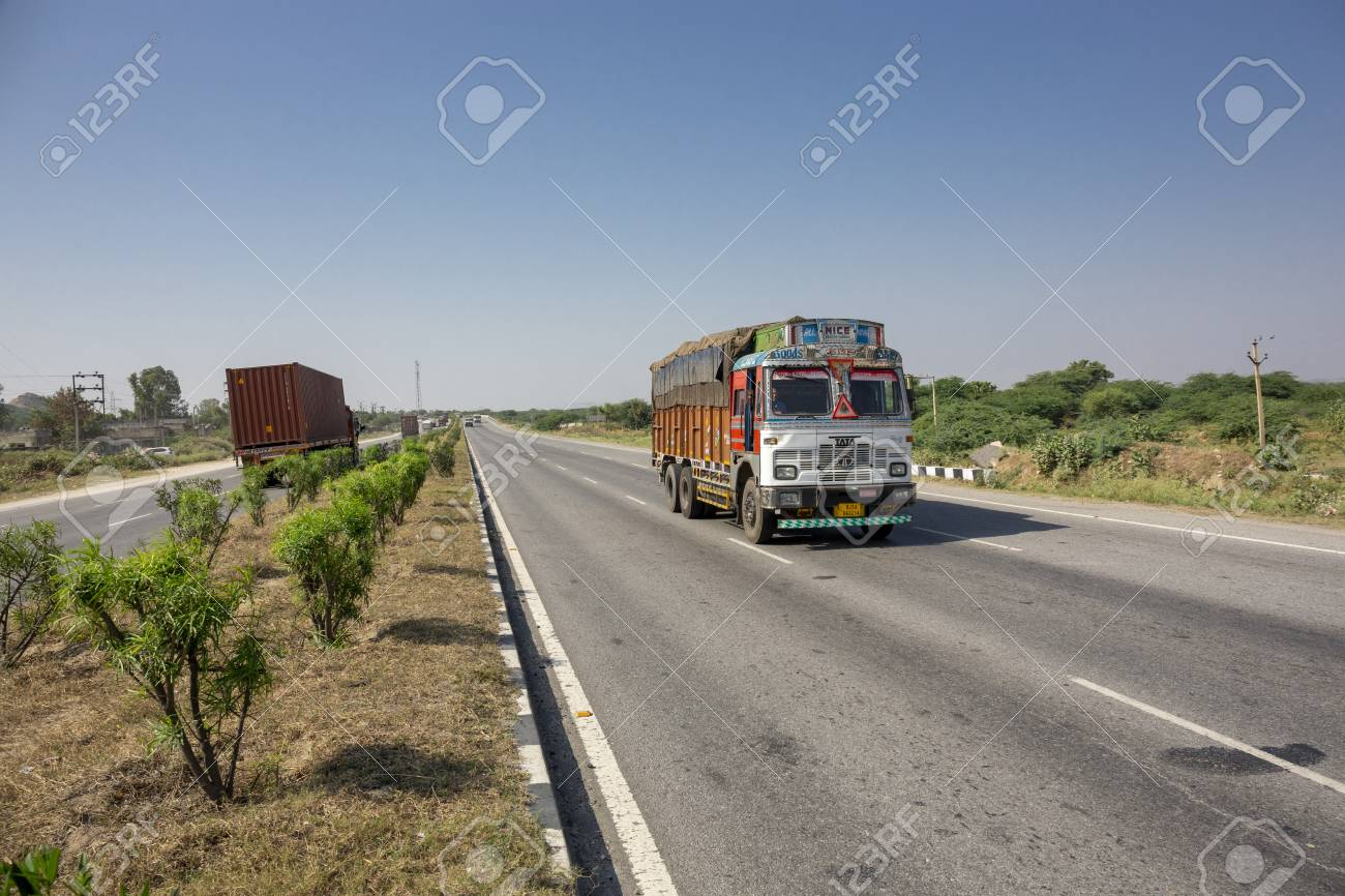 Rajasthan, India  Roads is the dominant mode of transportation