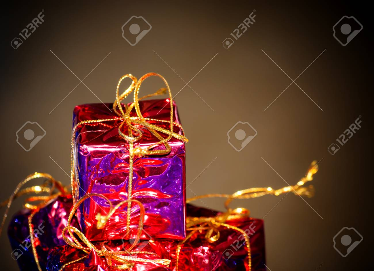 Christmas Gift Packages.Gift Packages For A Party Such As Christmas Or Birthday