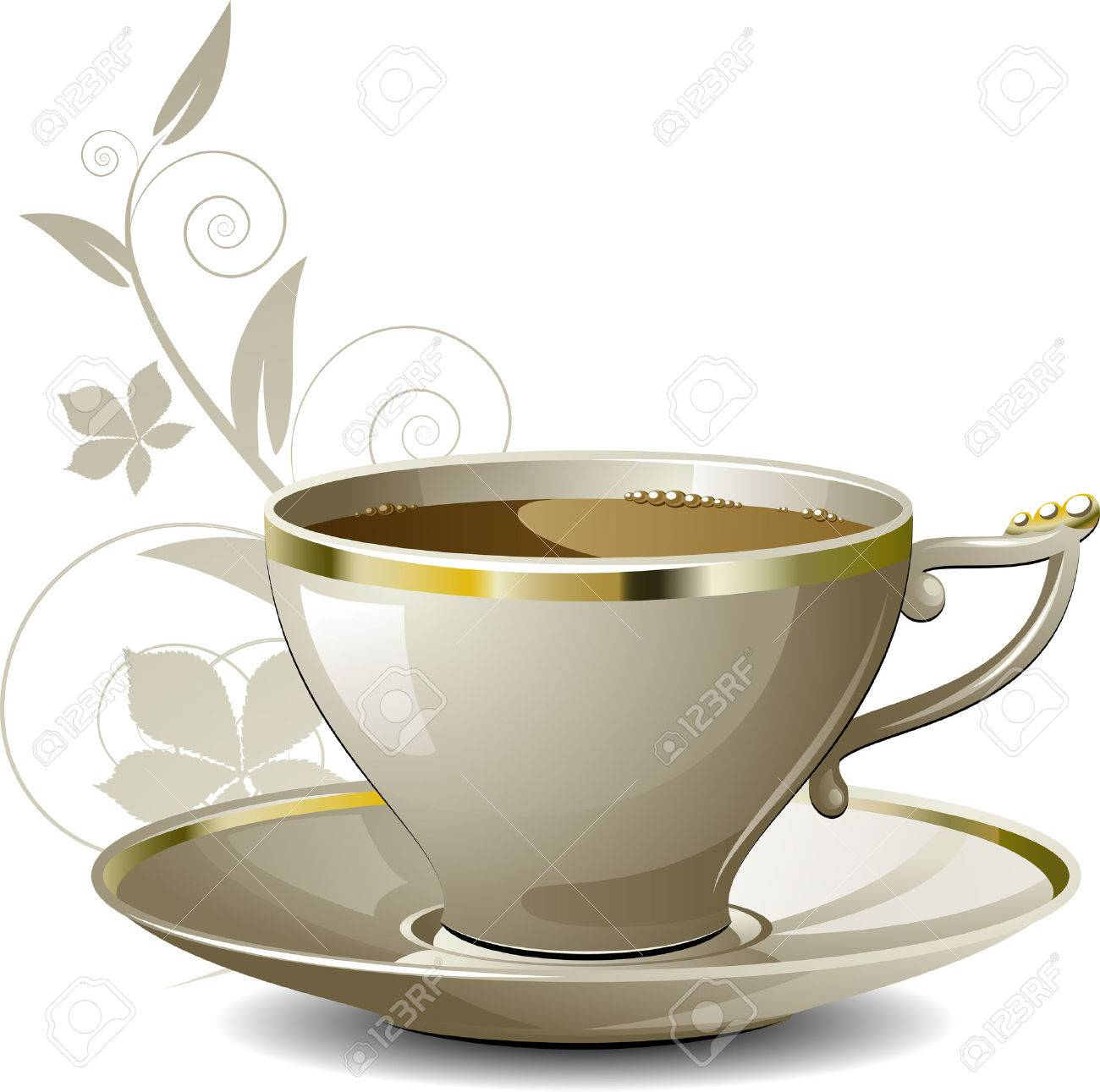 Cup of coffee Stock Vector - 7575968