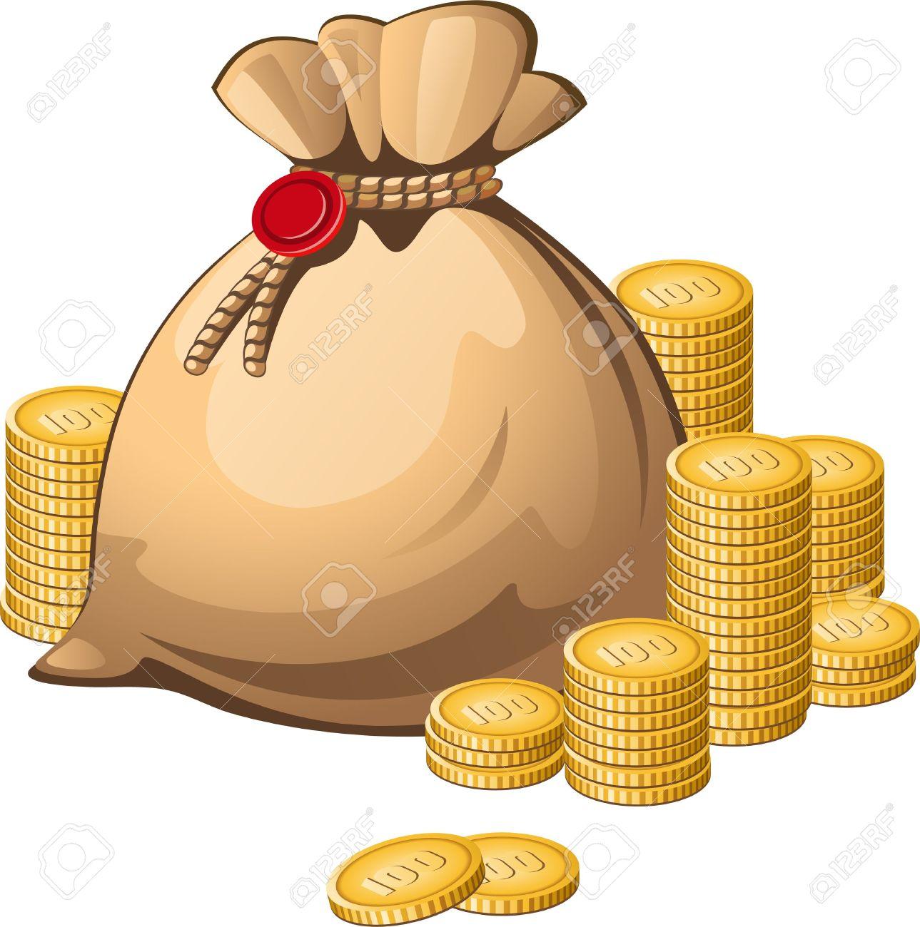 Money Bag Vector Png Money Bag Vector