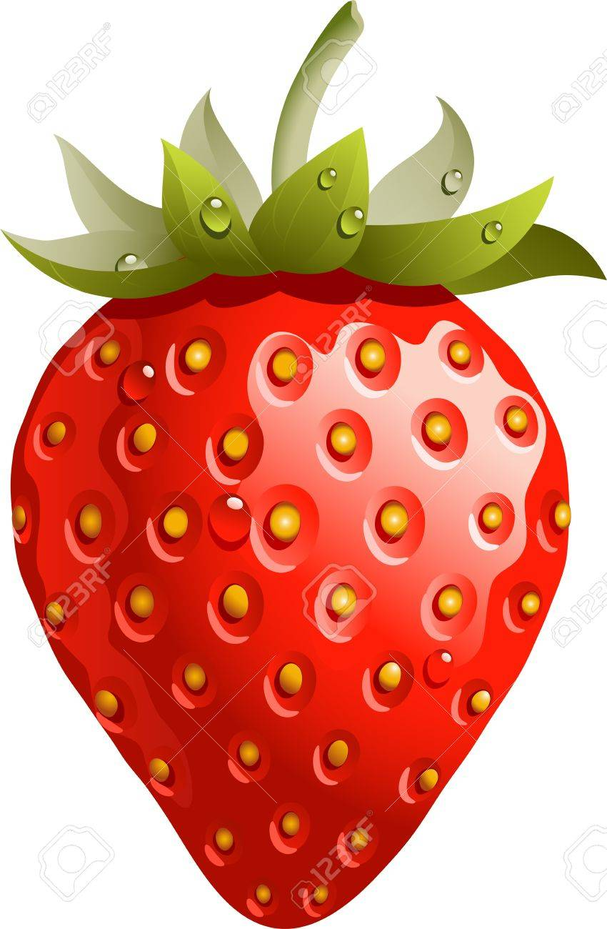 5,304 Strawberry Flavor Stock Illustrations, Cliparts And Royalty ...