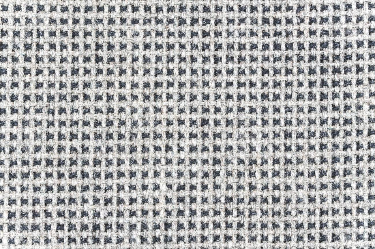 Texture Of Grey White Fabric From Sofa Stock Photo Picture And