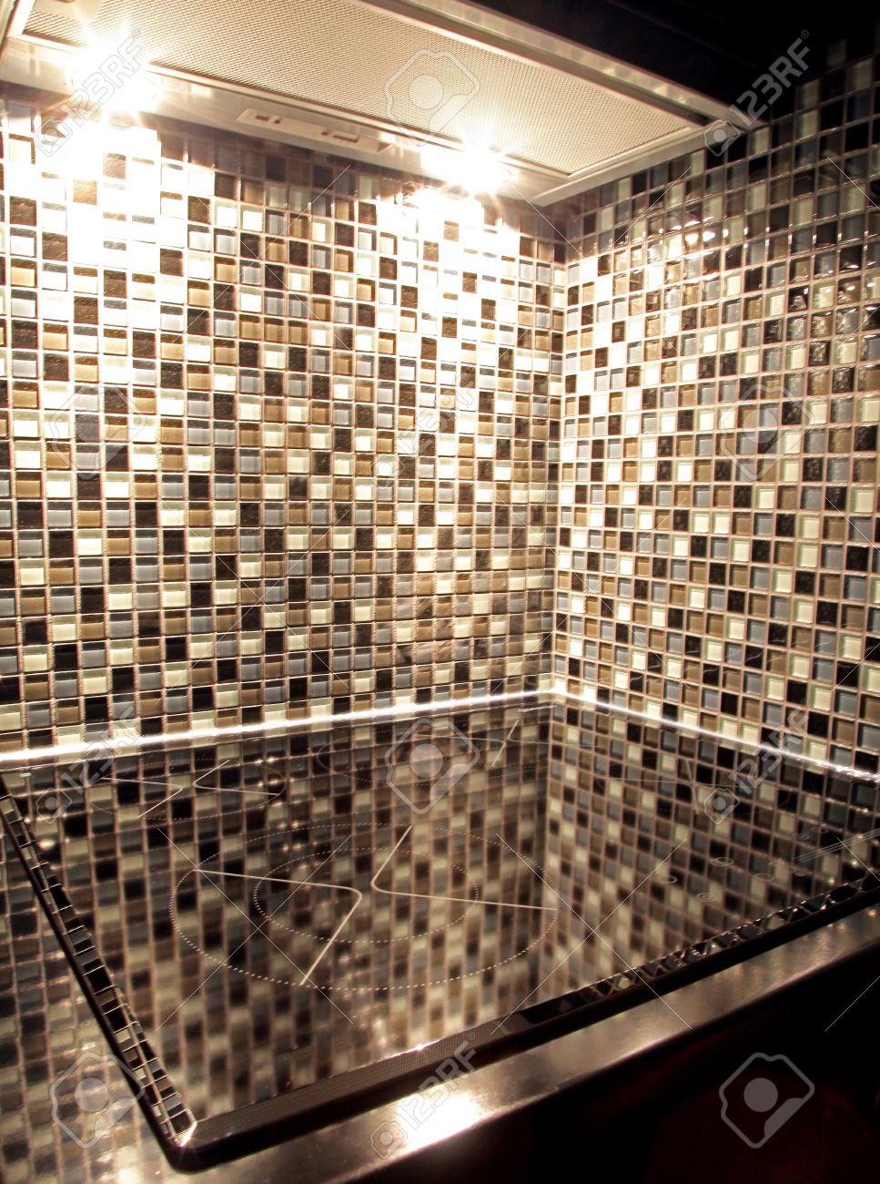 azulejos modernos en la cocina foto de archivo 24532751