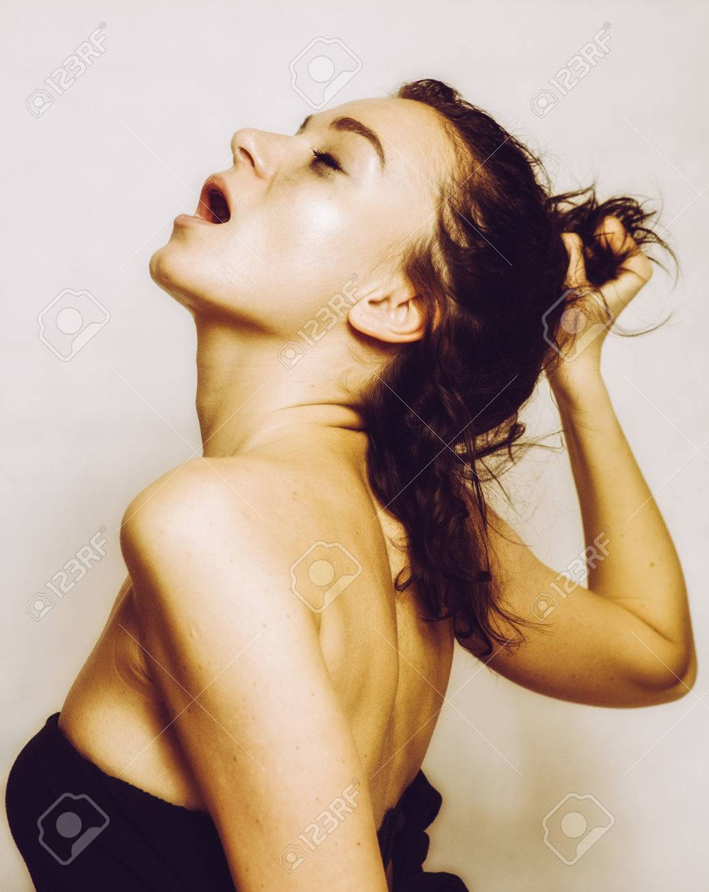 sexy frauen mit orgasmus gesicht