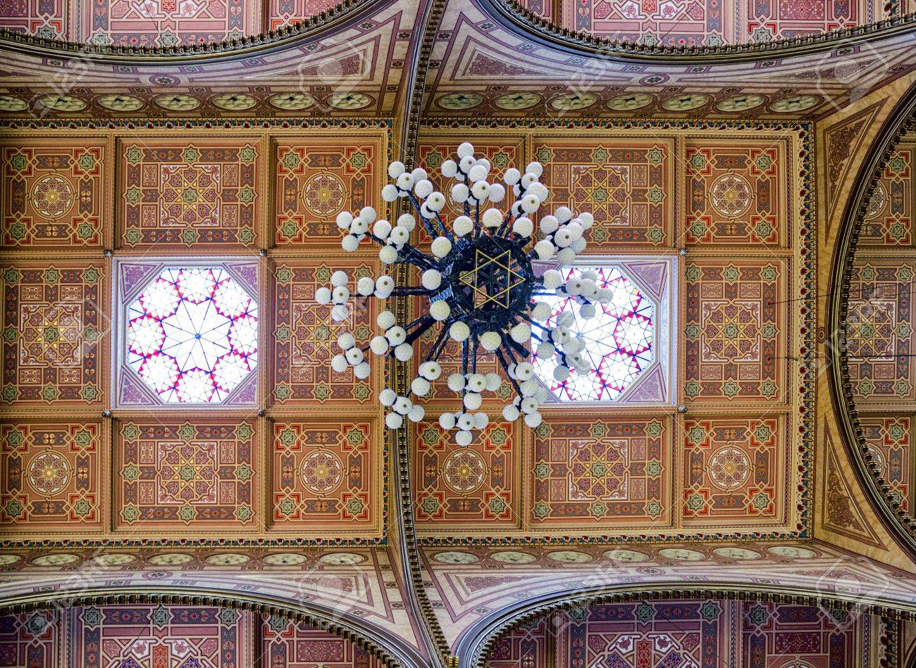 Budapest hungary may 7 chandelier in great jewish synagogue budapest hungary may 7 chandelier in great jewish synagogue biggest in europe aloadofball Gallery