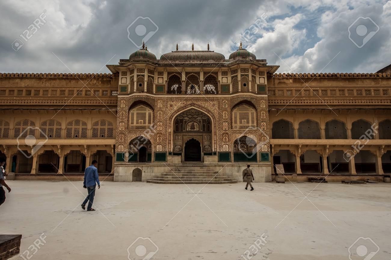 Amber Palace heritage tourist destination in jaipur - 128837072