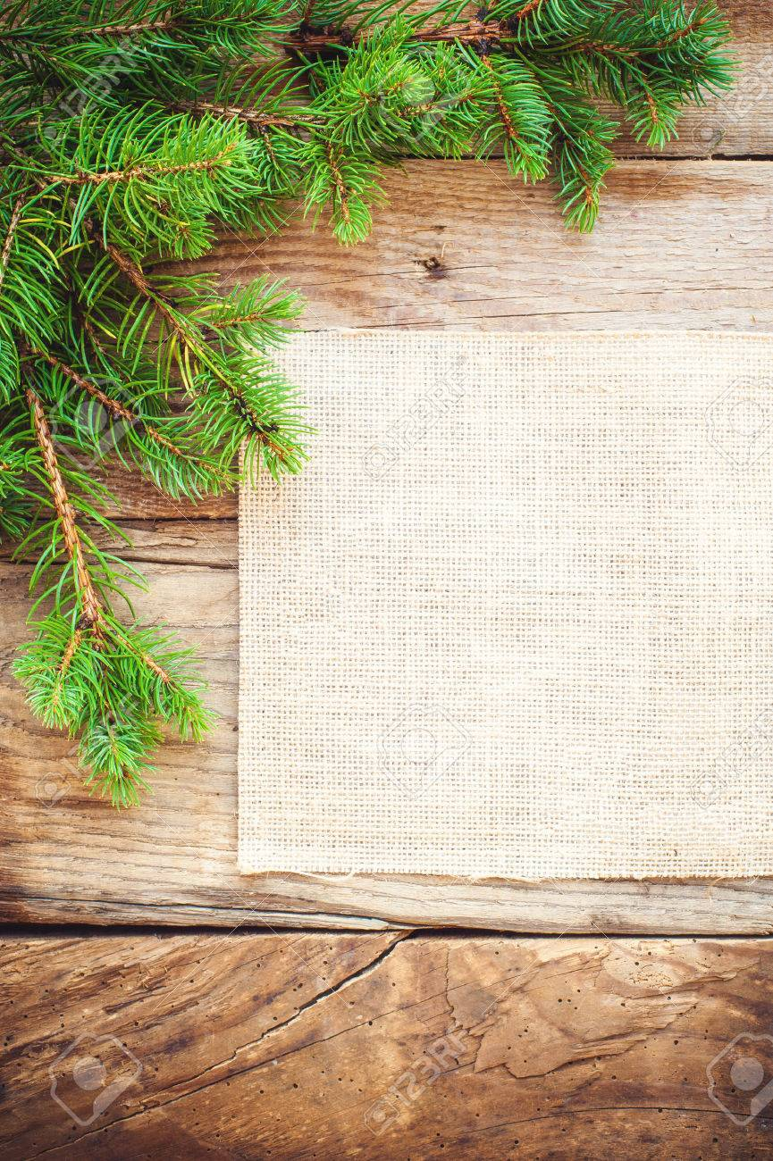 christmas background on a wooden rustic old table stock photo 30913406 - Rustic Christmas Background