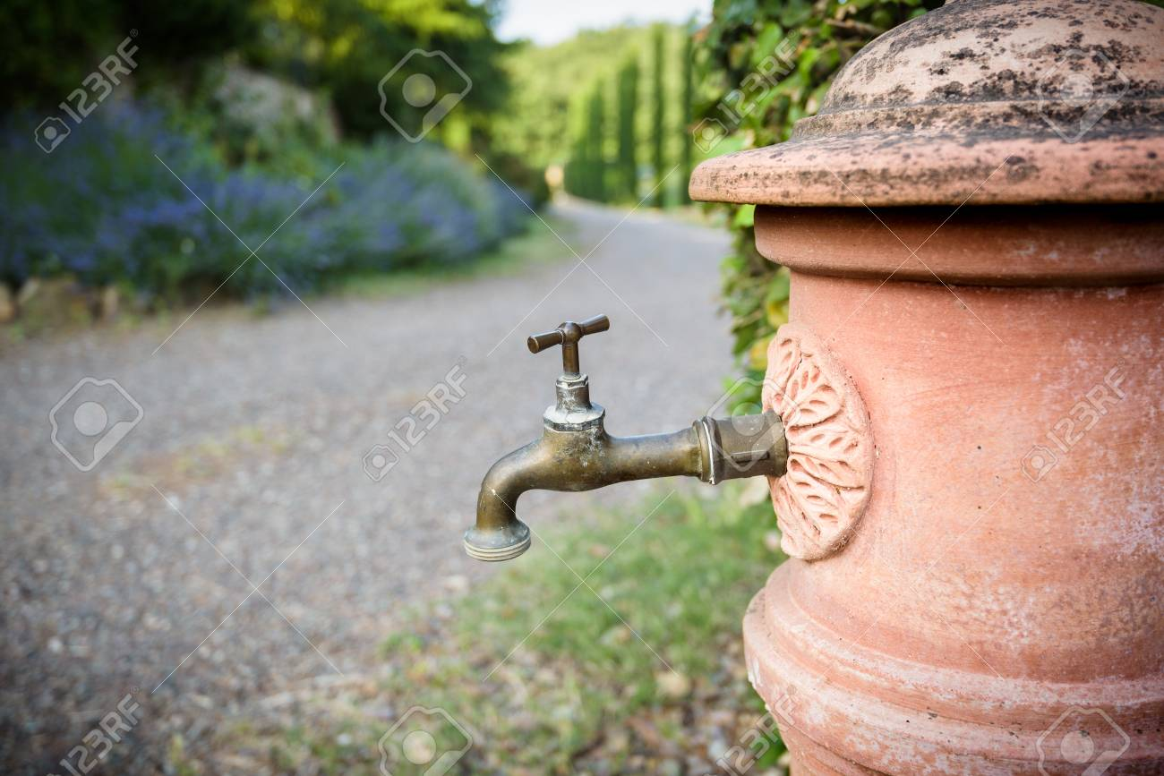 Stylized Water Faucet Stock Photo, Picture And Royalty Free Image ...