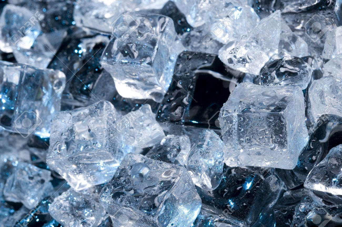 Abstract With Black Ice Creative Coold Background