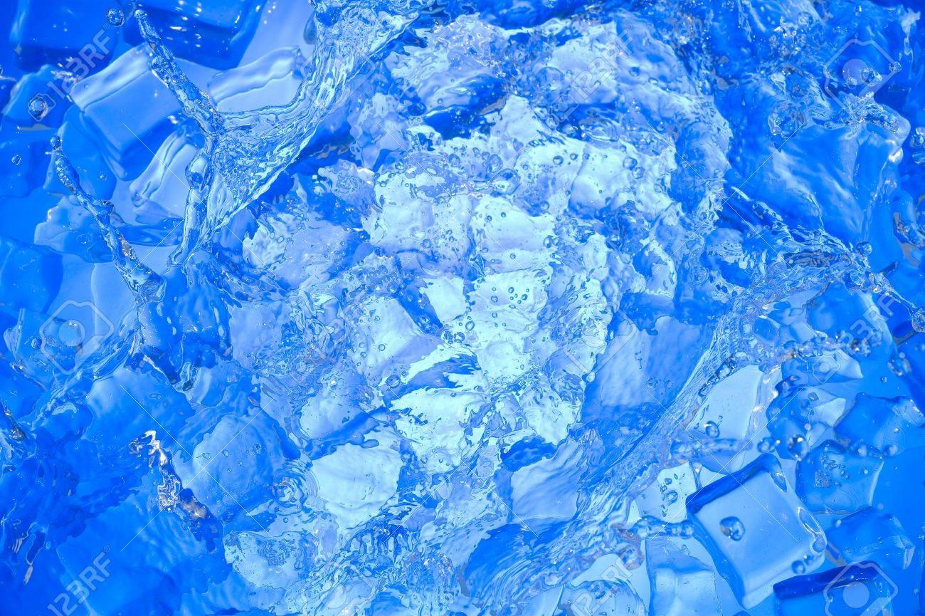 Blauer hintergrund wasser