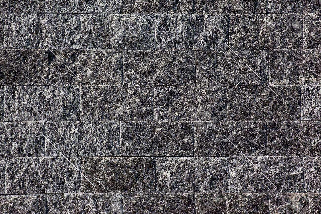 Wall of stone brick made of diorite Stock Photo - 15233442
