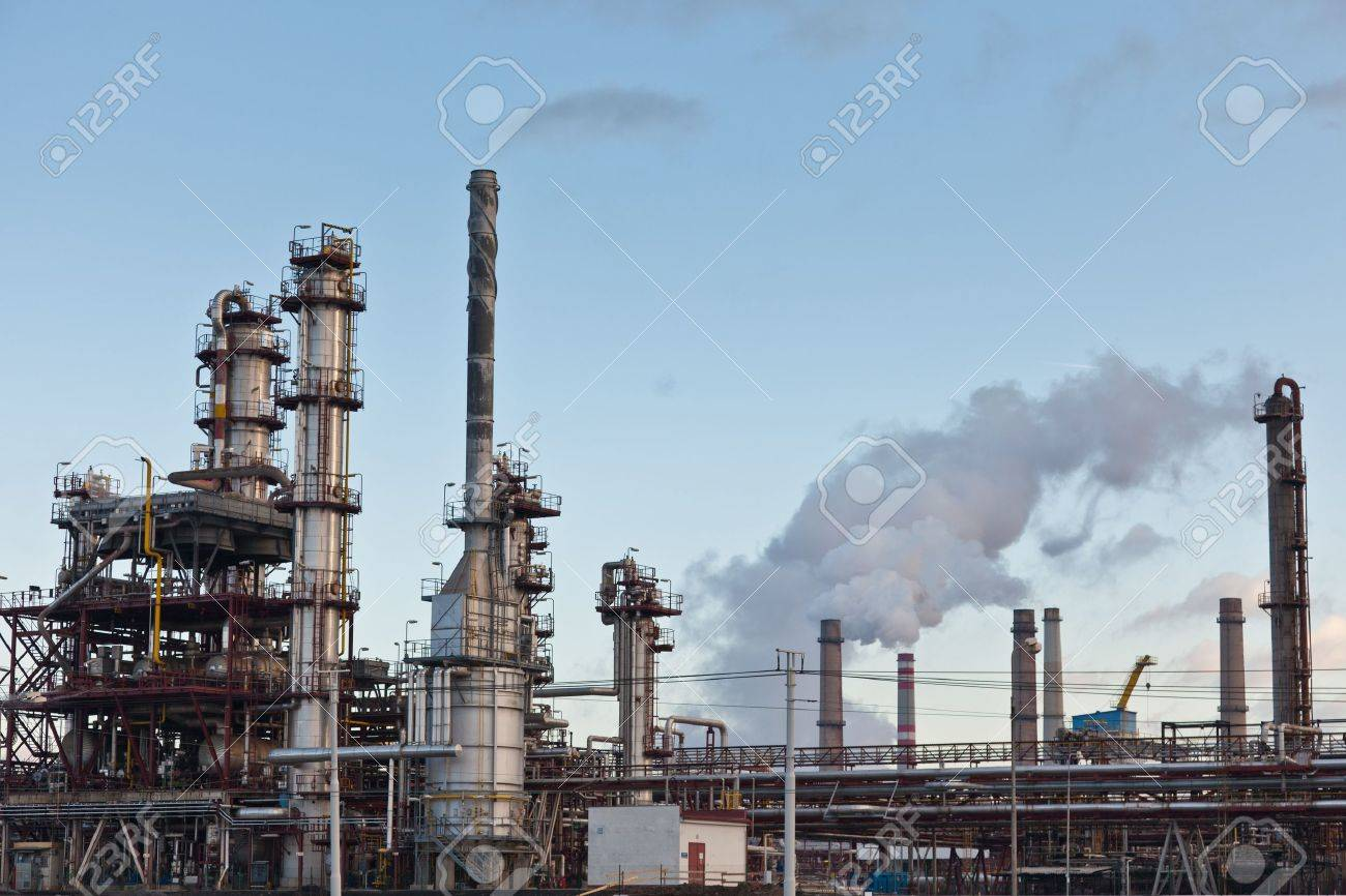 Ammonia and fertilizer production for agricultura Stock Photo - 16436308