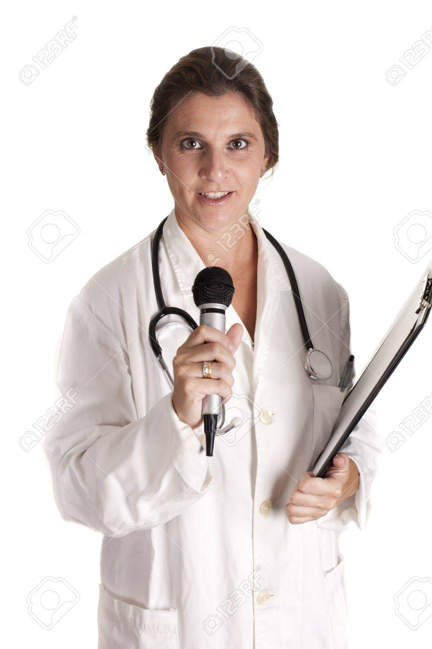 a doctor of medicine lecturing Stock Photo - 15259712