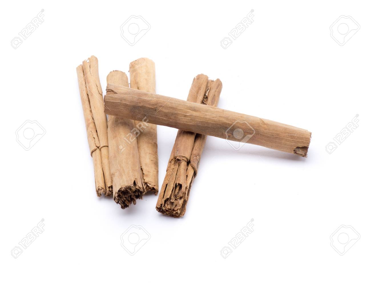 several cinnamon sticks naturally to flavor foods Stock Photo - 18514911