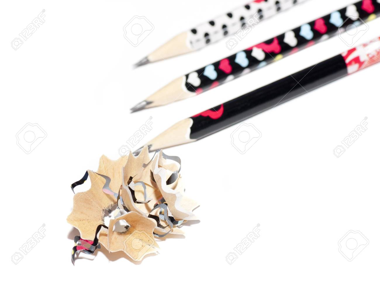 chip, after sharpening pencils Stock Photo - 18514922