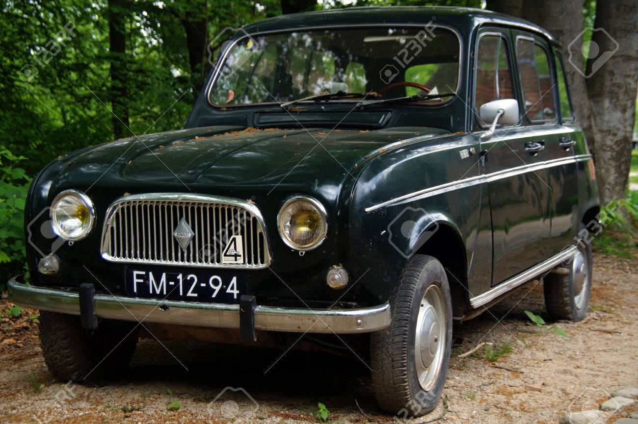 Vintage Renault 4 R4 Hatchback Front View Stock Photo Picture And Royalty Free Image Image 41052266