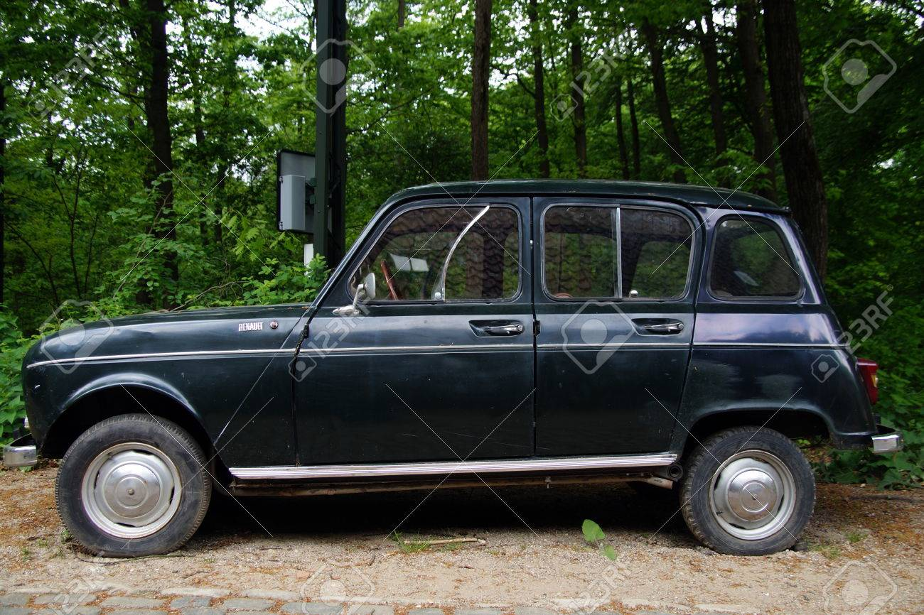Vintage Renault 4 R4 Hatchback Sideview Stock Photo Picture And Royalty Free Image Image 41052267