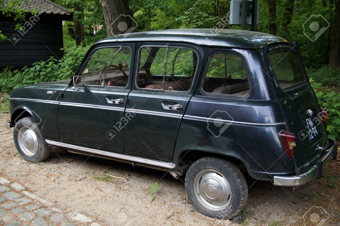 Vintage Renault 4 R4 Hatchback Back View Stock Photo Picture And Royalty Free Image Image 41052268