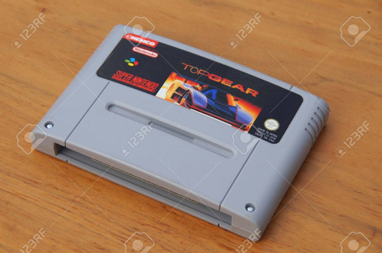 Super Nintendo Entertainment System Snes Game Cartridge Or Stock Photo Picture And Royalty Free Image Image 86716498