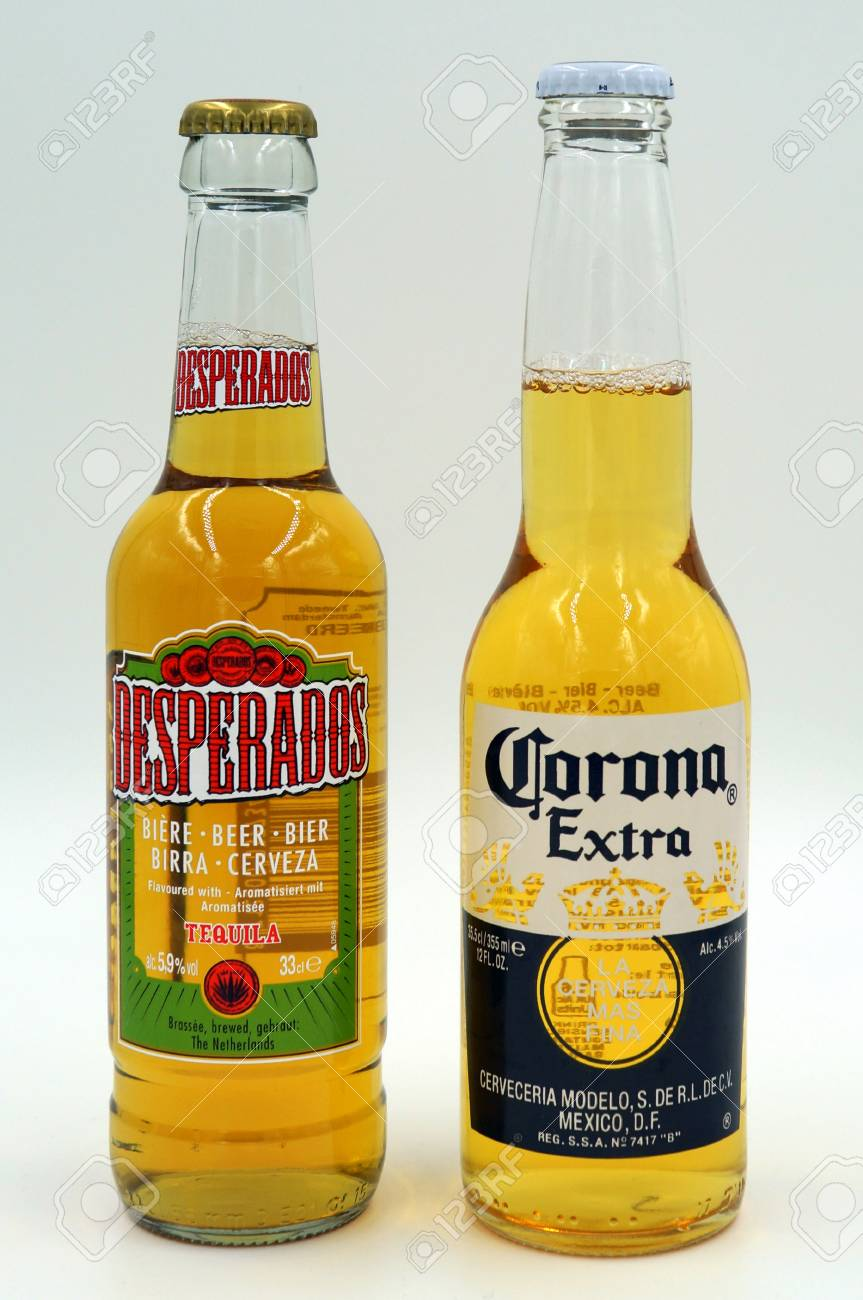 Bottles Of Corona Extra And Desperado Beer Stock Photo Picture And Royalty Free Image Image 91488743