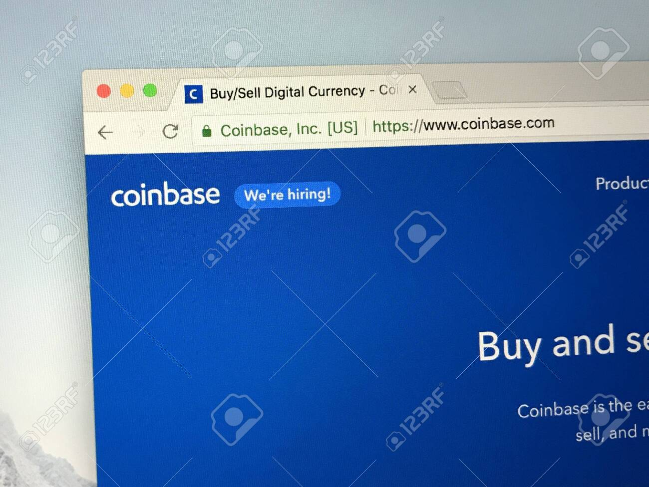 can you buy stock in coinbase