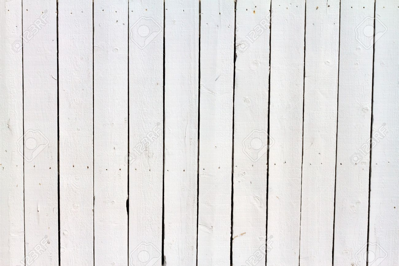 White Wood Fence Background Stock Photo Picture And Royalty Free