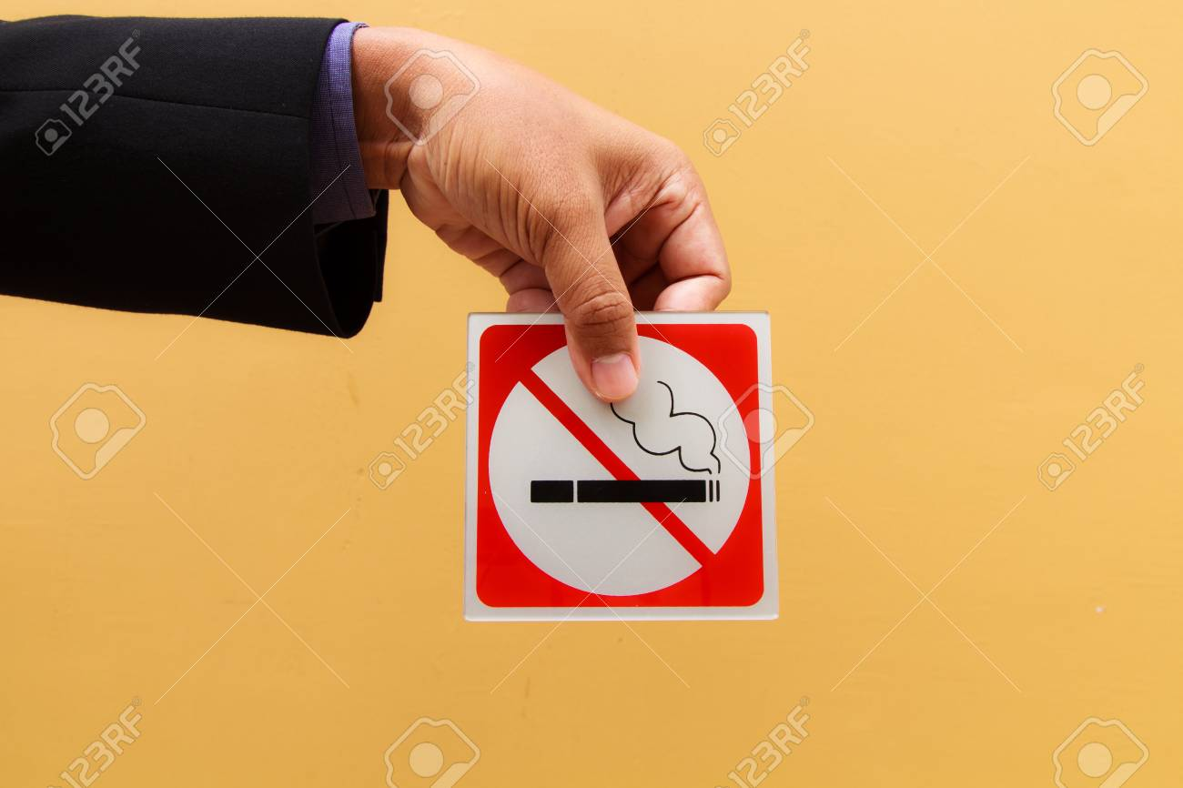 Business man hand show no smoking symbol stock photo picture and business man hand show no smoking symbol stock photo 20946605 buycottarizona Images