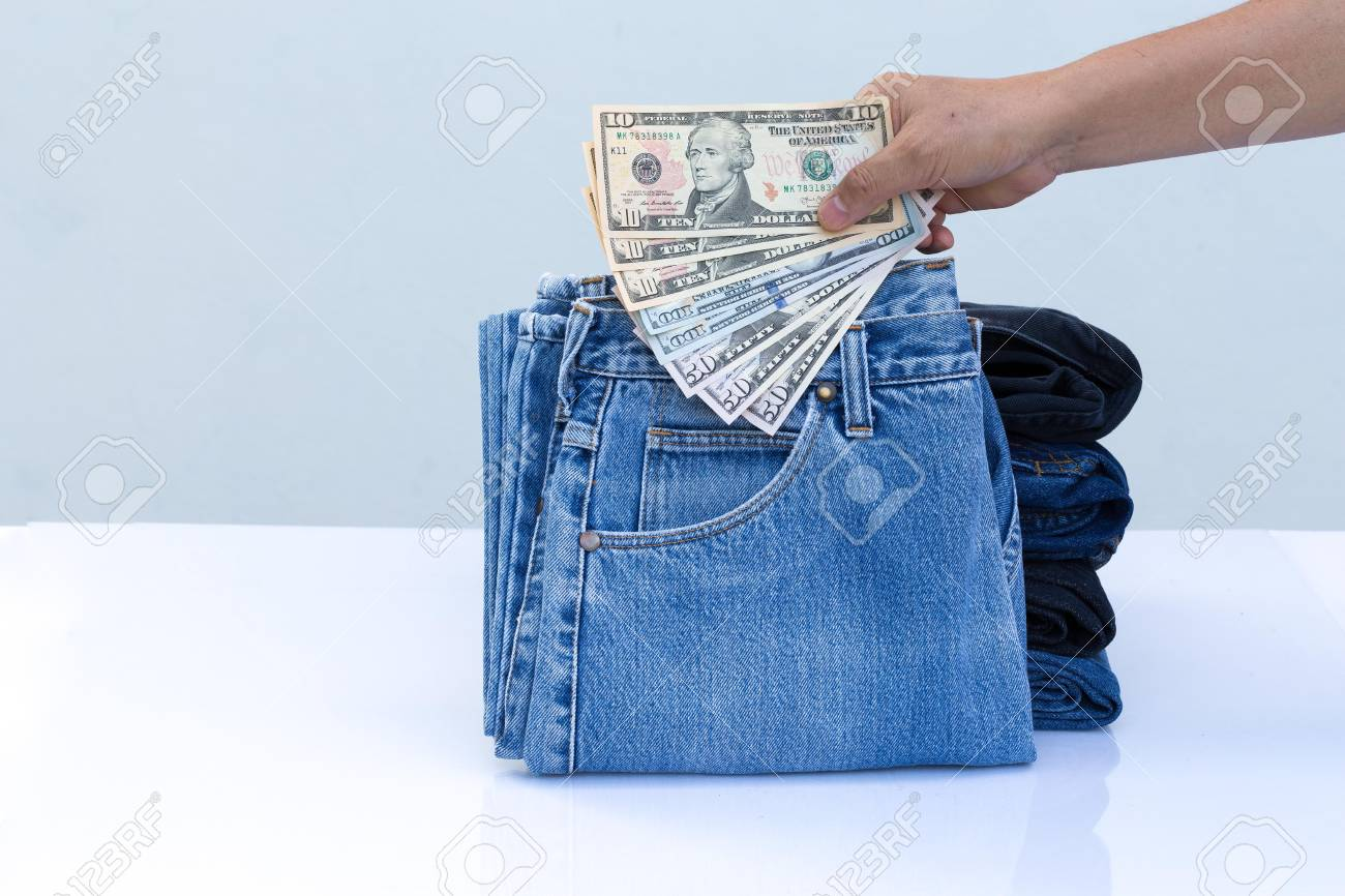 Armani denim jeans