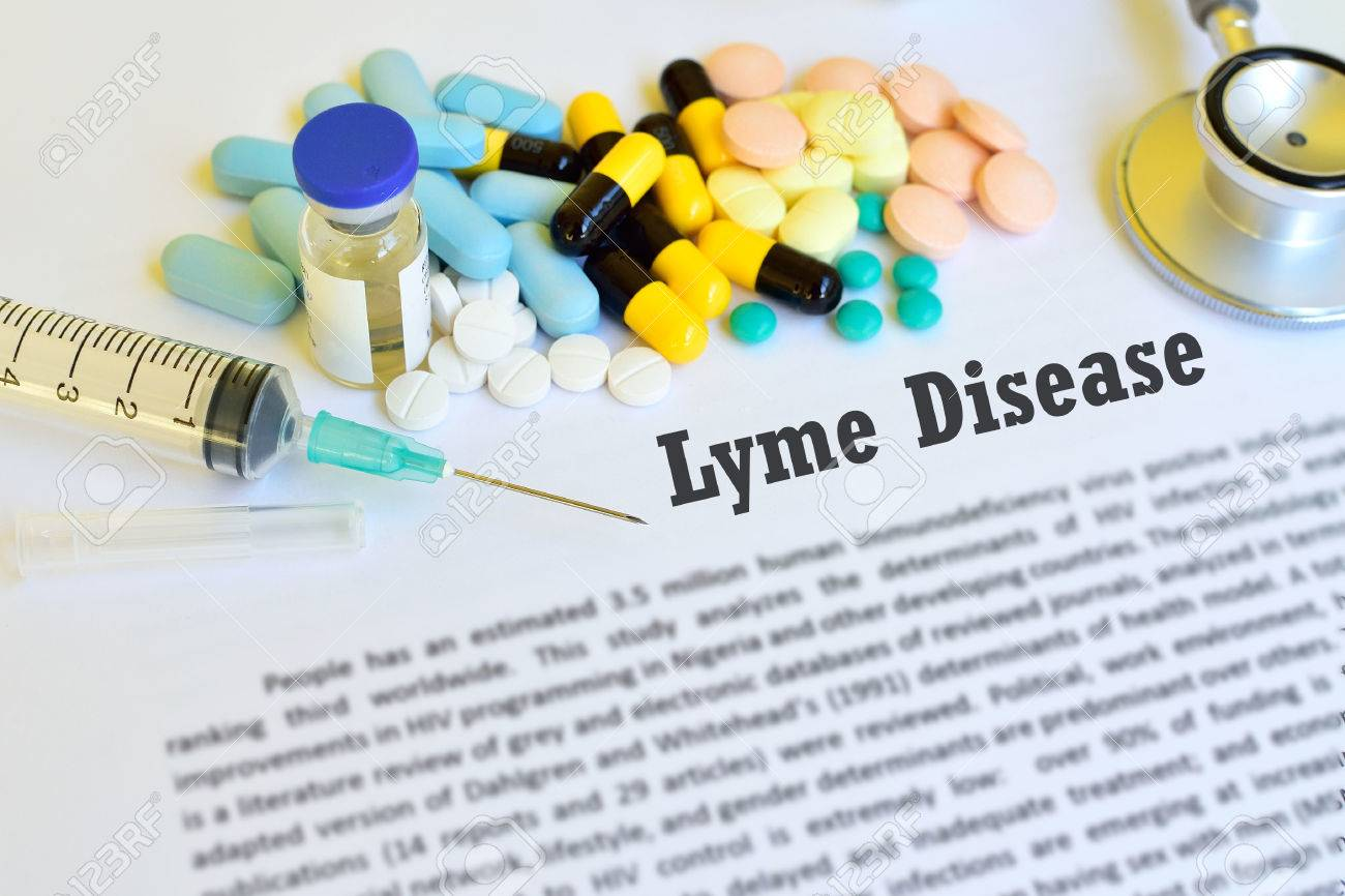 Drugs for Lyme disease treatment