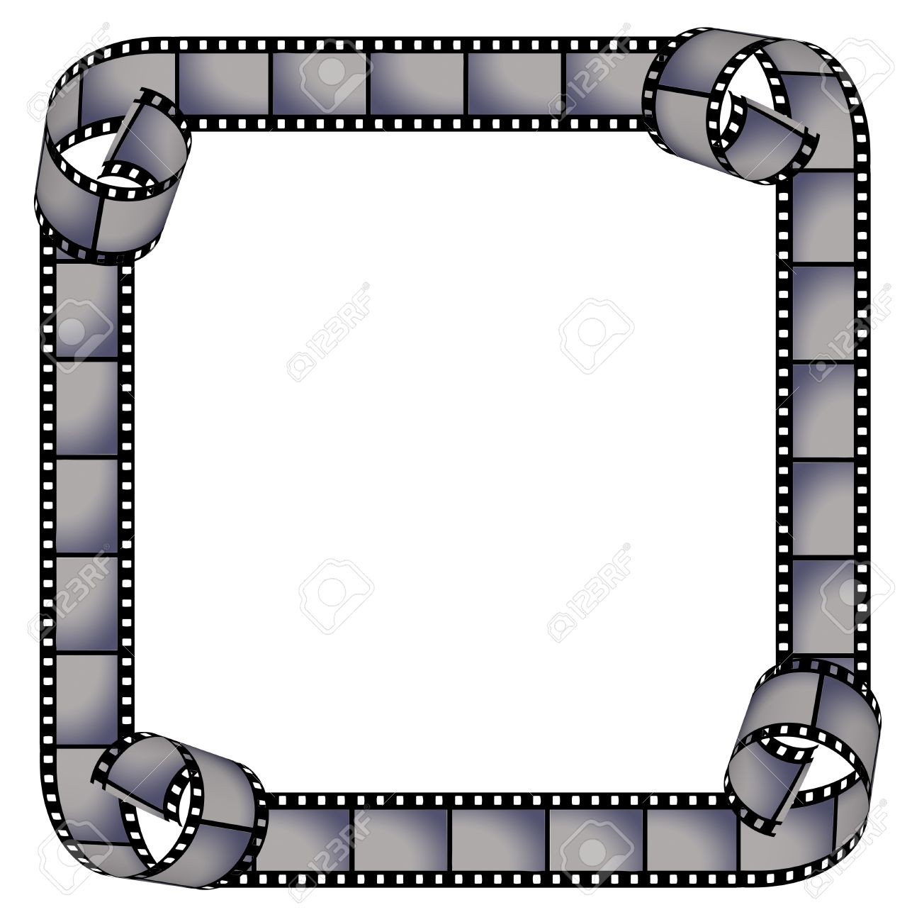Film Strip Frame. There Are Paths Of Elements In The Path Palette ...