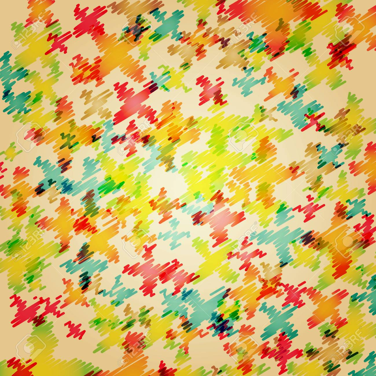 Colorful abstract illustration Stock Photo - 8784562