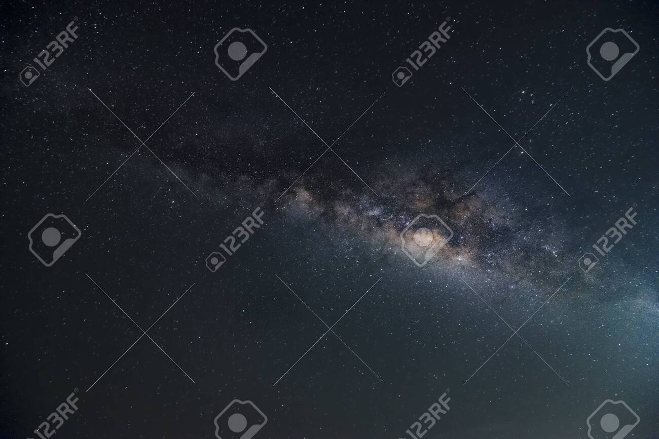 A beautiful milkyway in space - 145959604