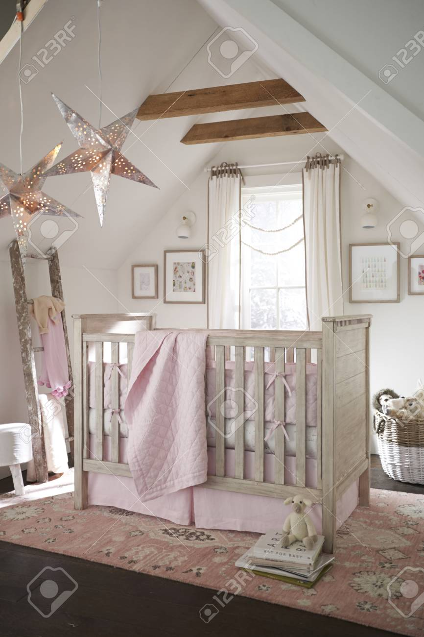 French Style Bedroom Furniture Linen Winter Cozy Nursery