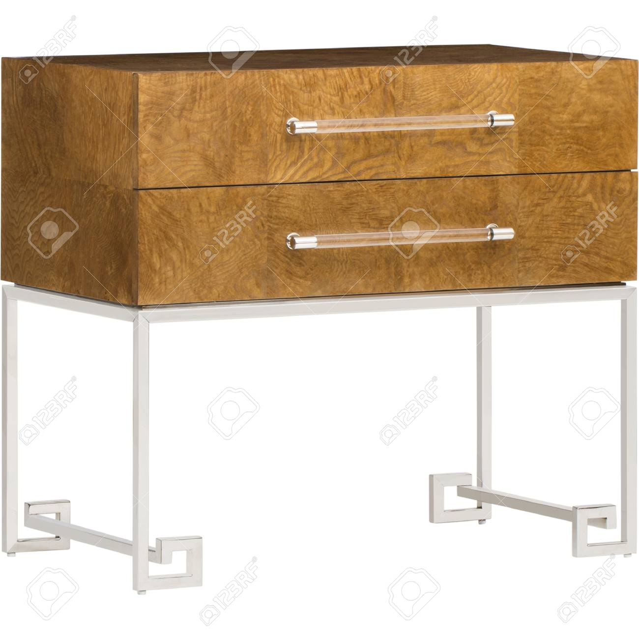 Picture of: Mid Century Bedside Table Stock Photo Picture And Royalty Free Image Image 98806913