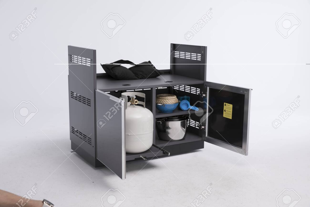 Kitchen Sink Cabinets And Free Standing Kitchen Sink Cabinet Stock Photo Picture And Royalty Free Image Image 135205791
