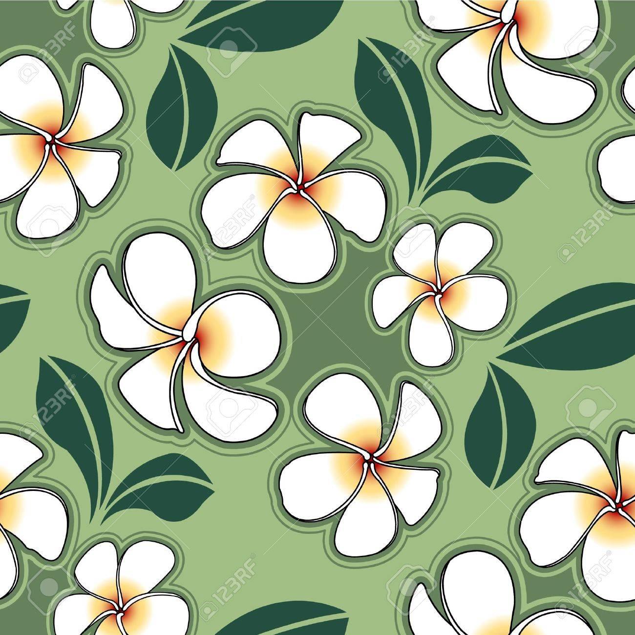 Plumeria flower  for design Stock Vector - 12756396