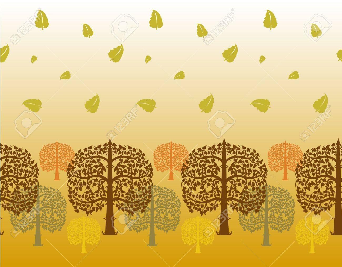 Design of bodhi tree Stock Vector - 12756403