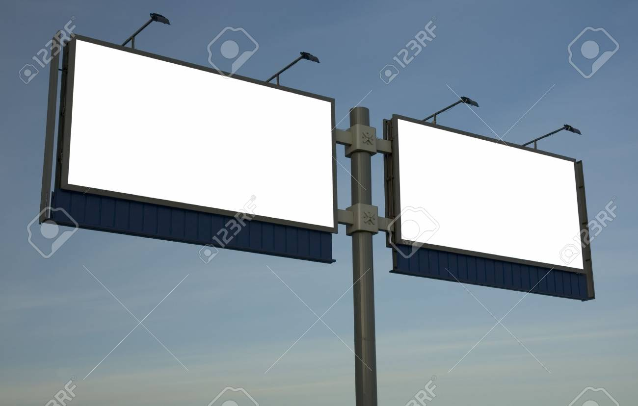 blank billboard, just add your text Stock Photo - 287553