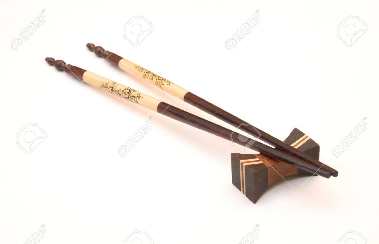 ivory chopstiks Stock Photo - 292005